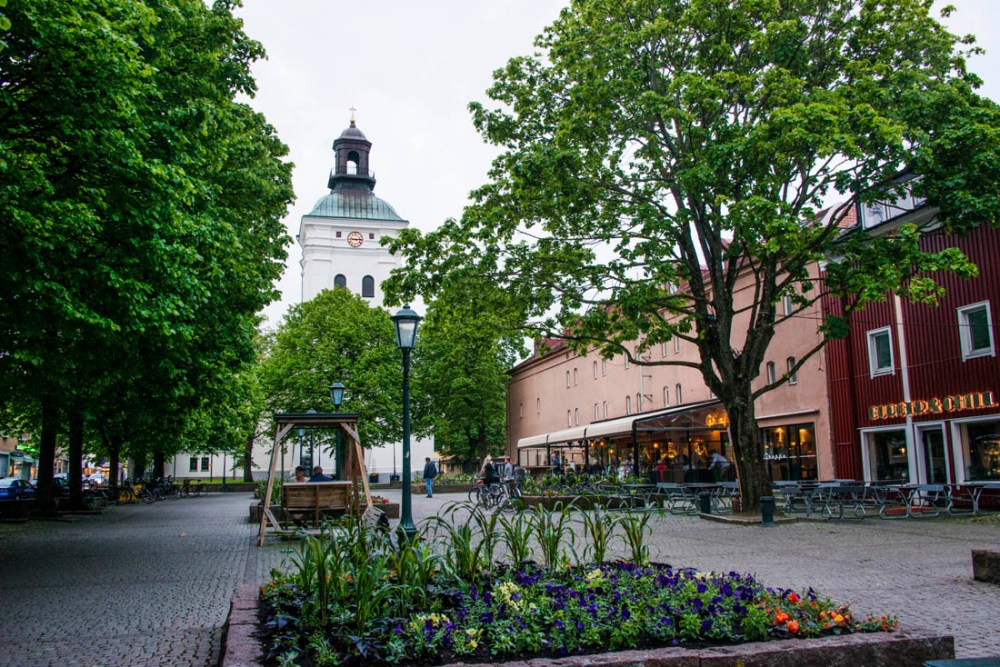 Brunnsparken i Varberg