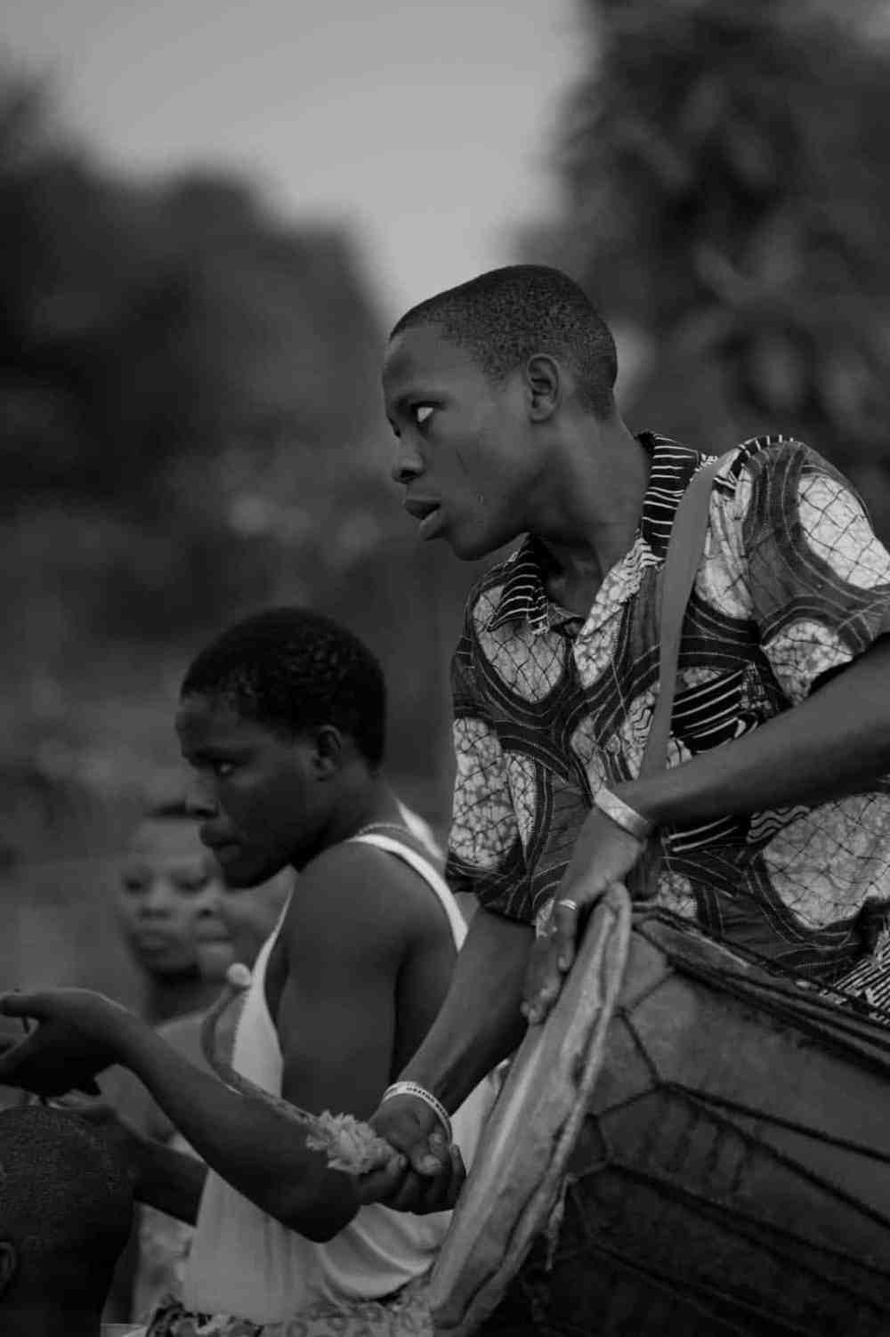 Trommer i Vest-Afrika