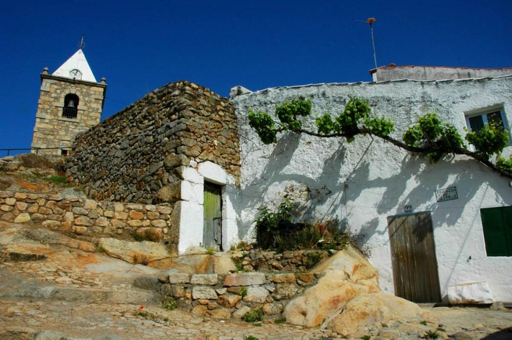 Landsbyen Segura i Castelo Branca-regionen i Portugal