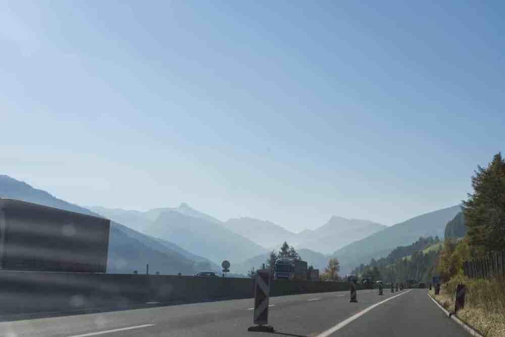 Autobahn i Brennerpasset