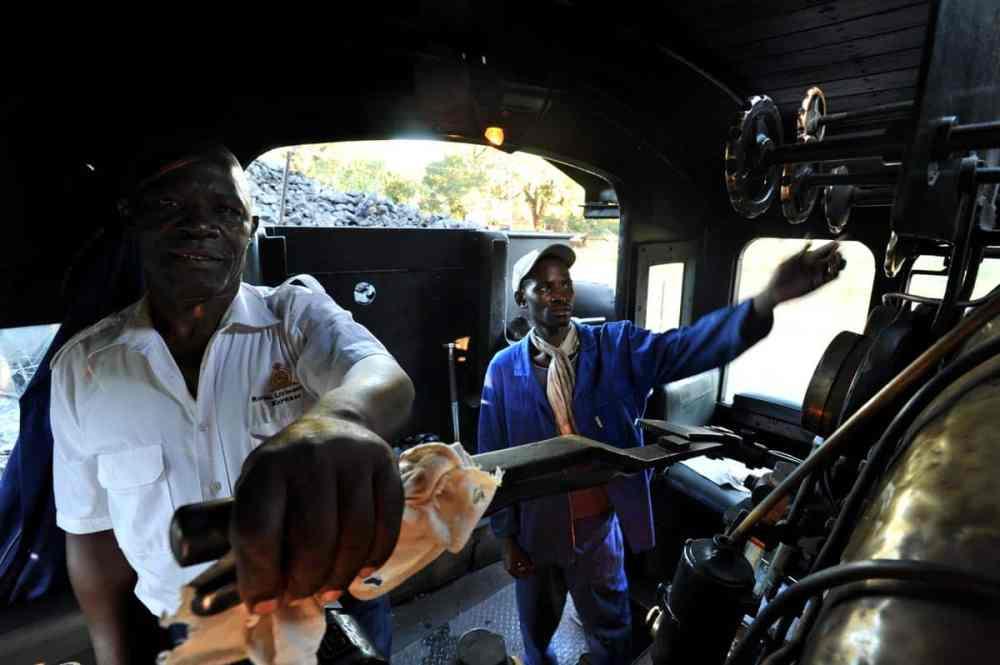 Royal Livingstone Express i Zambia