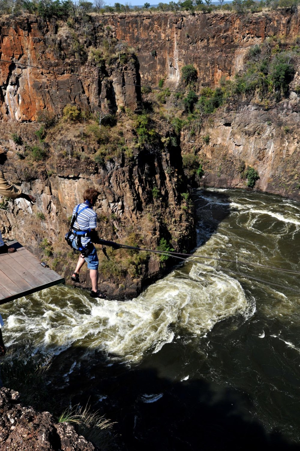 Gorge swing Victoriafallene