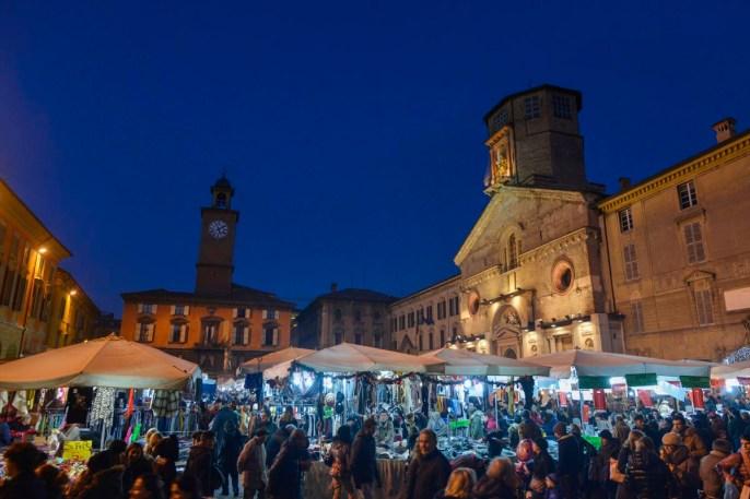 Piazza Prampolini i Reggio Emilia