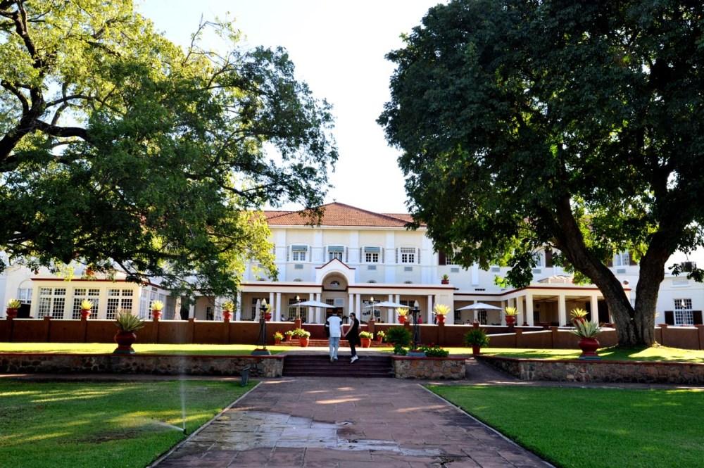 The Victoria Falls Hotel i Zimbabwe