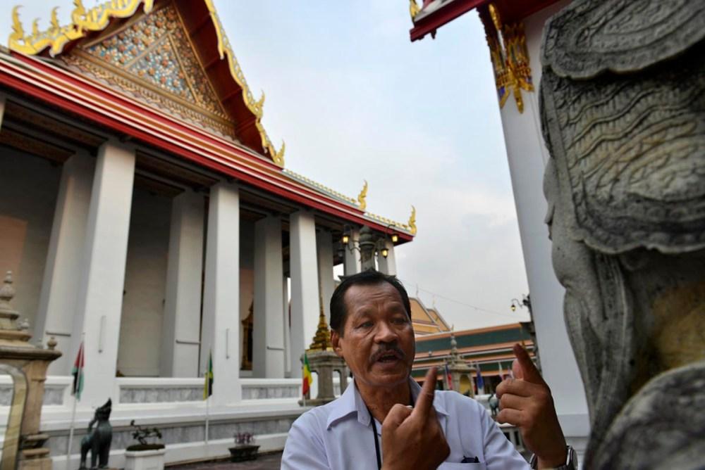 Guide i Wat Pho