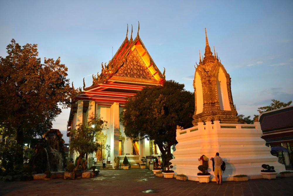 Wat Pho-tempelet i Bangkok