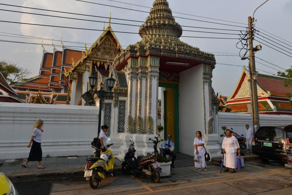 Inngangen til Wat Pho