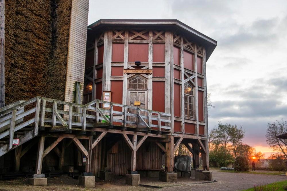 Kaltinhalierhalle i Bad Dürrenberg