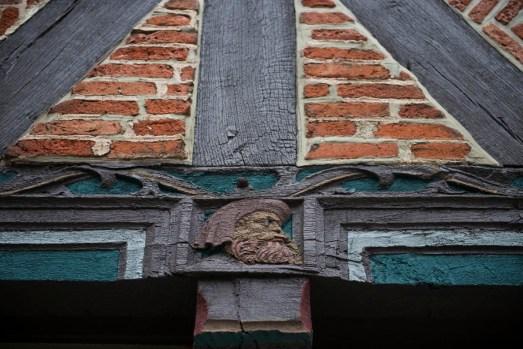 detalj i tysk bindingsverkshus