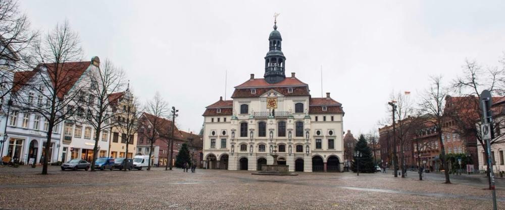 Rådhusplassen i Hansestadt Lüneburg