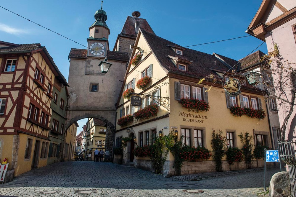 Rothenburg ob der Tauber til tips til sommerferie 2018