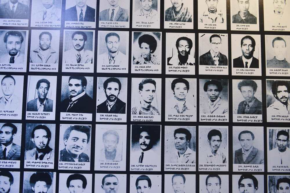 Folkemordmuseet i Addis Abeba