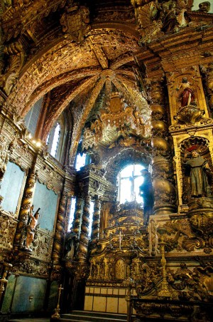 Igreja de Sao Francisco i Porto