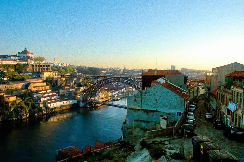 Ponte de Dom Luis 1 i Porto