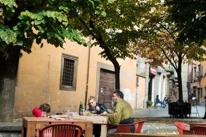 Piazza del Morte i Viterbo i Italia