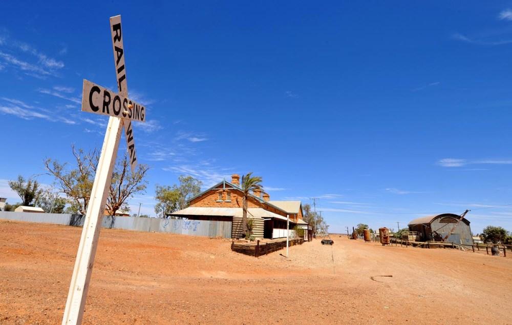 Oodnadatta track i Australia