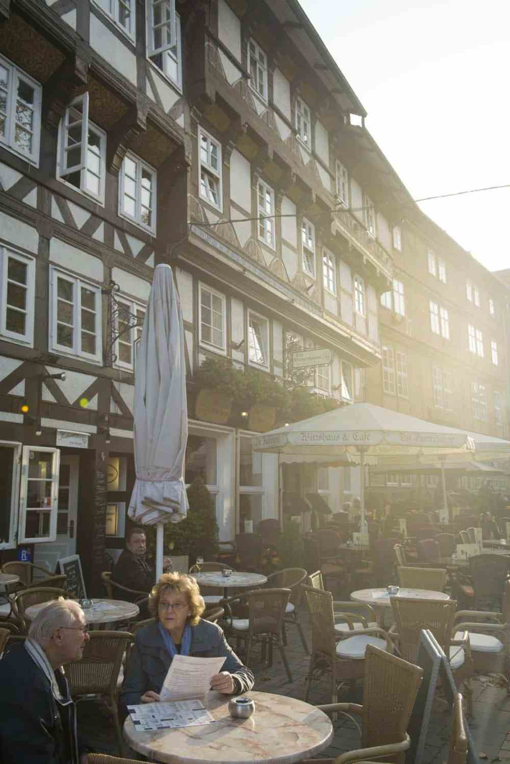 Uterestaurant i Goslar