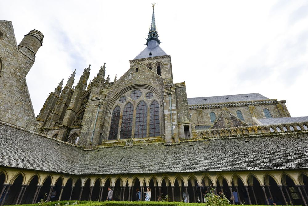 Inne på Mont-Saint-Michel