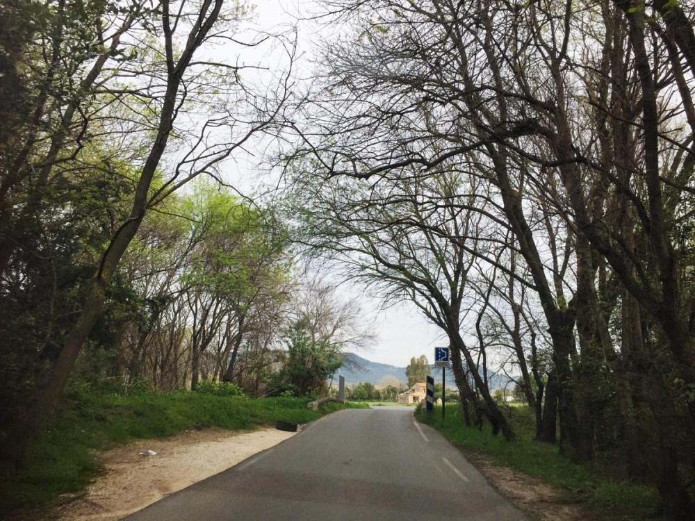 Landevei i Provence