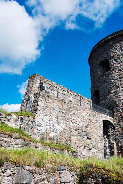Tårnet Fars Hatt på Bohus fästning i Kungälv
