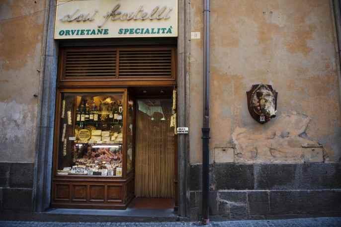 Norcineria i Orvieto.