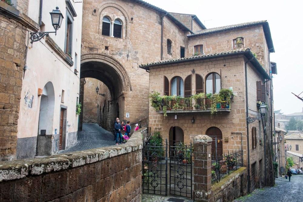 Gamlebyen i Orvieto.