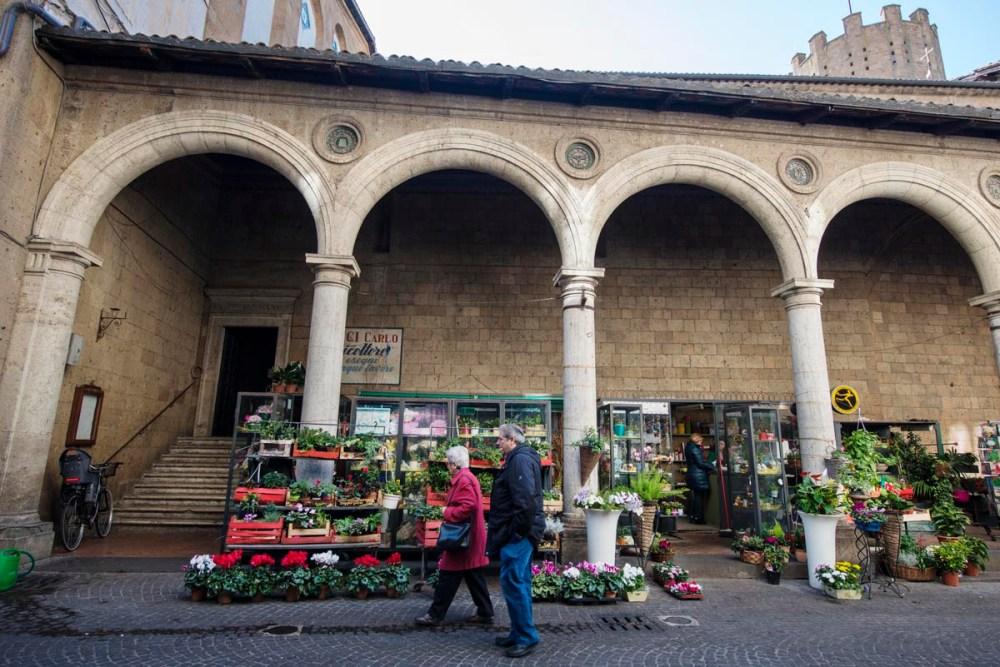 Piazza della Repubblica i Orvieto.