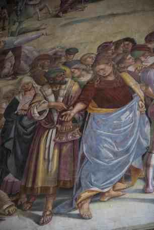 Luca Signorellis elskerinne i Cappella San Brizio