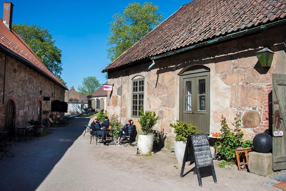 Det grunnmurede provianthus i Gamlebyen Fredrikstad