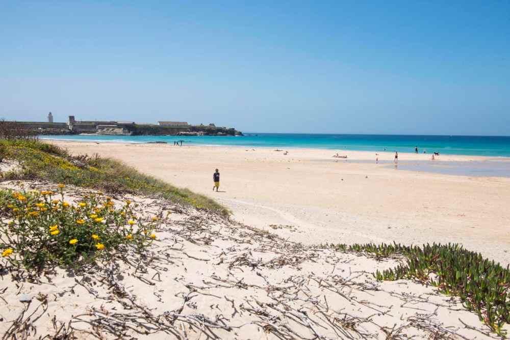 Punta de Tarifa og sandstrand