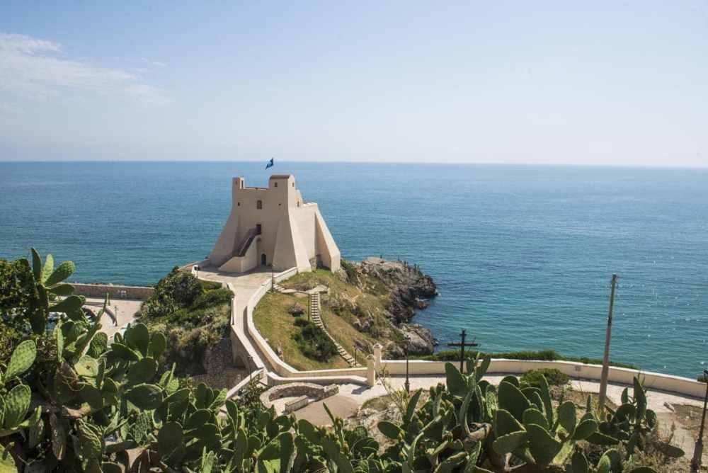 Torre Truglia i Sperlonga i Italia