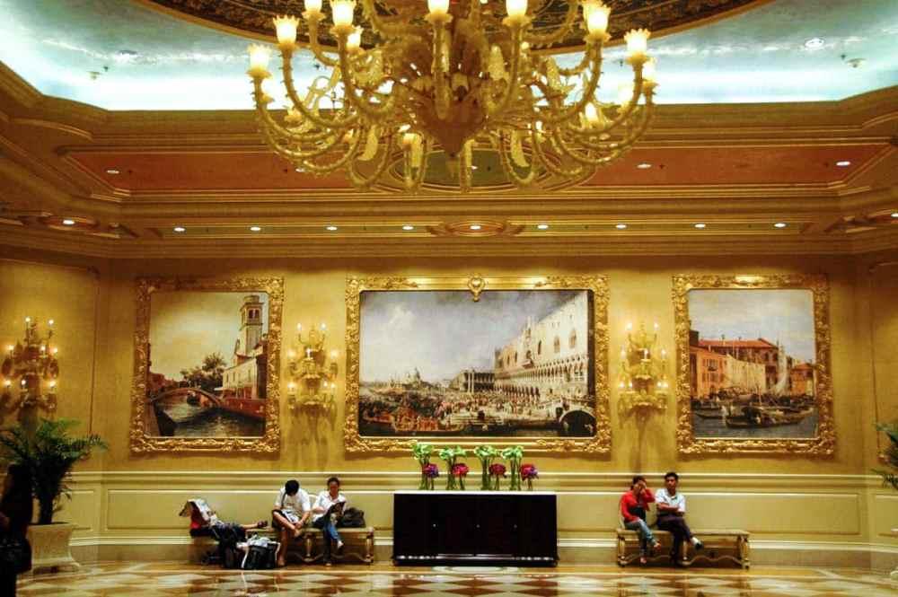 Interiør i Venetian Macau