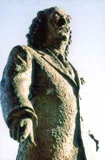 Salvador Dali-statue i Cadaques