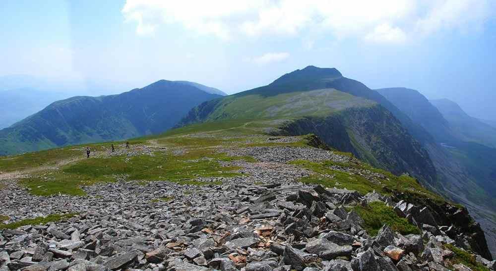 Fjelltur opp Cadair Idris i Snowdonia i Nord-Wales