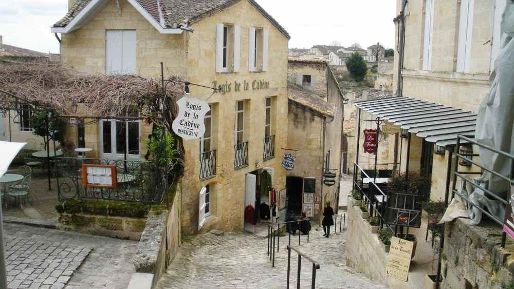 Saint-Emilion i Frankrike