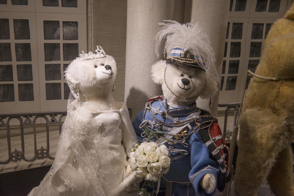 Bryllupsmodell i Skagen bamsemuseum
