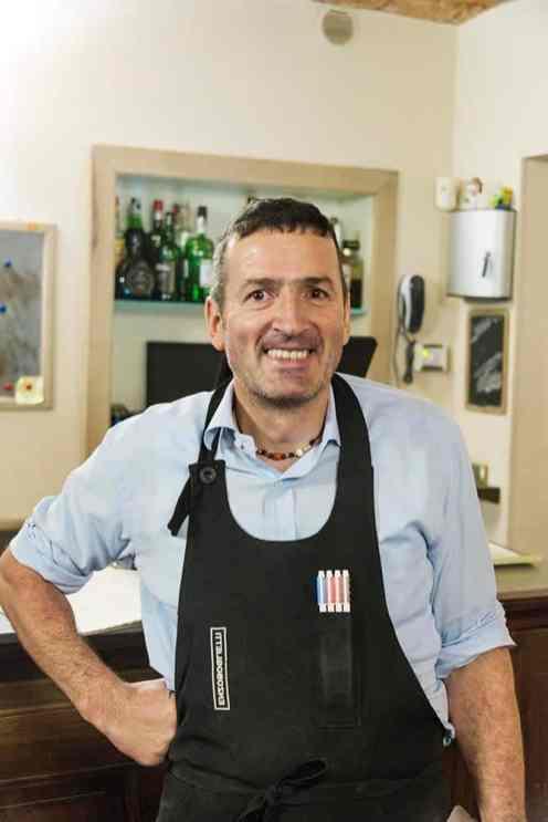 Luciano Marengo i L'Osteria del Vignaiolo i Barolo
