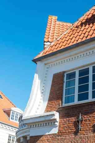 Detalj på husfasade i Skagen