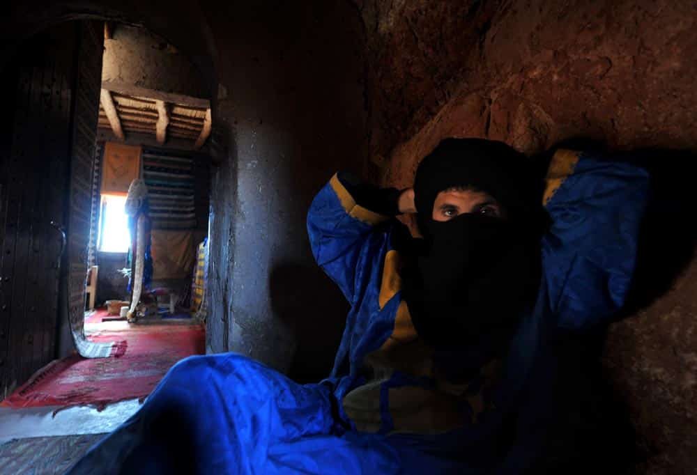 Berber i Aït Benhaddou i Marokko