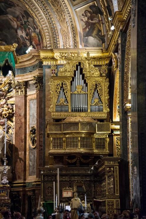 Orgelet i St John Co-Cathedral.