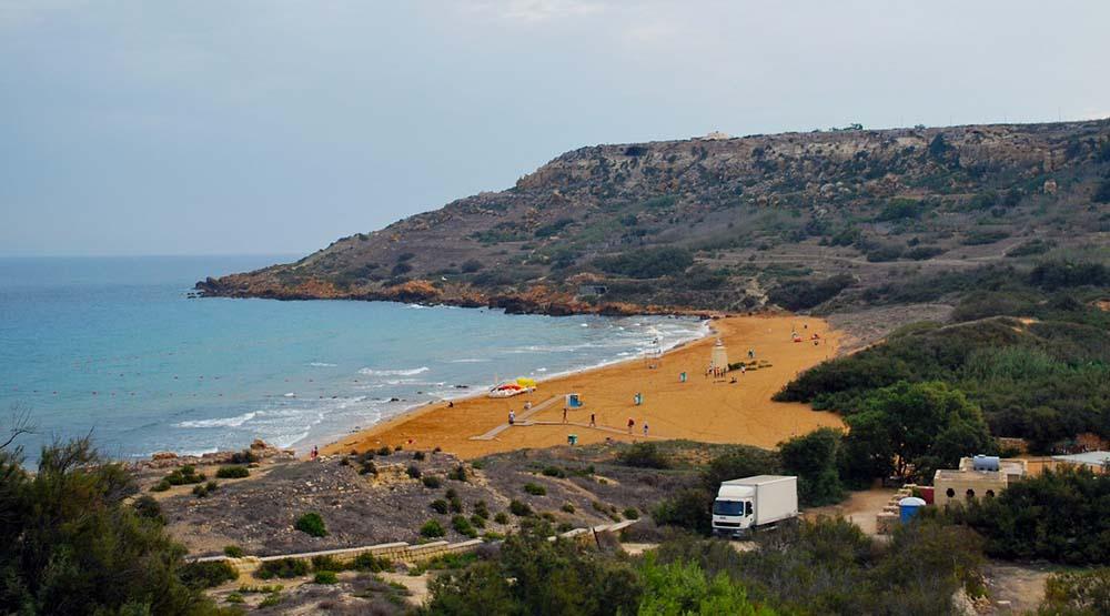 Ramla Bay på Gozo