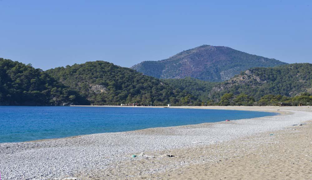 Stranda i Ölüdeniz