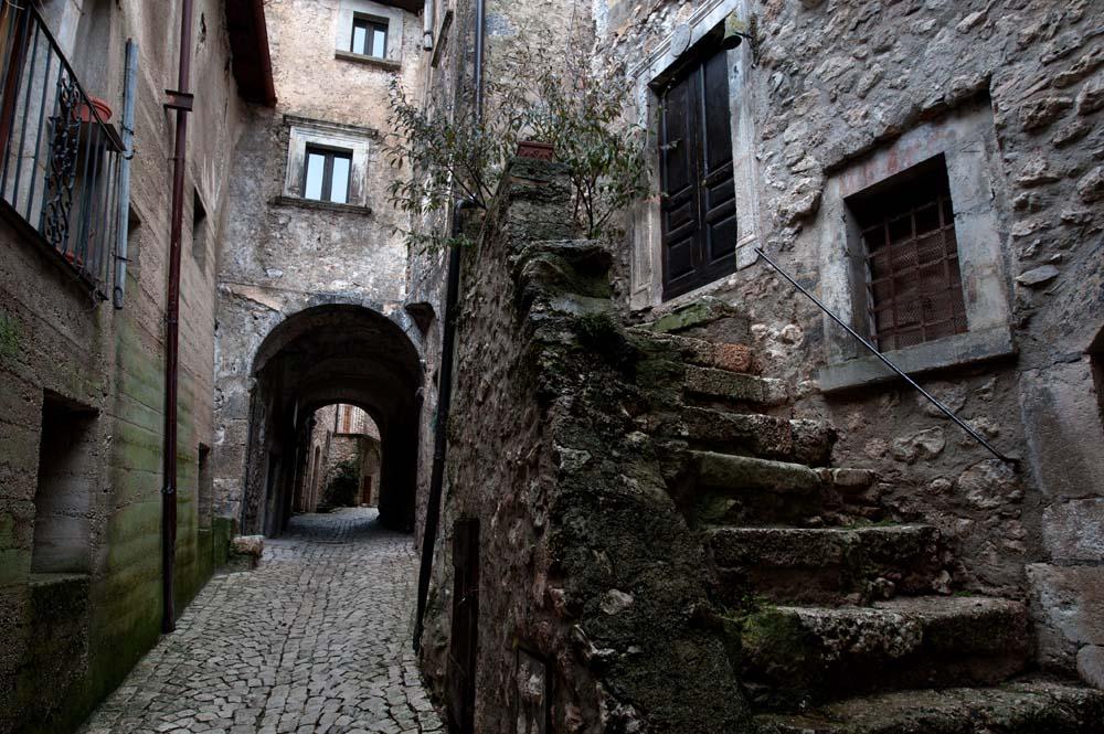 En gate i Santo Stefano di Sessanio