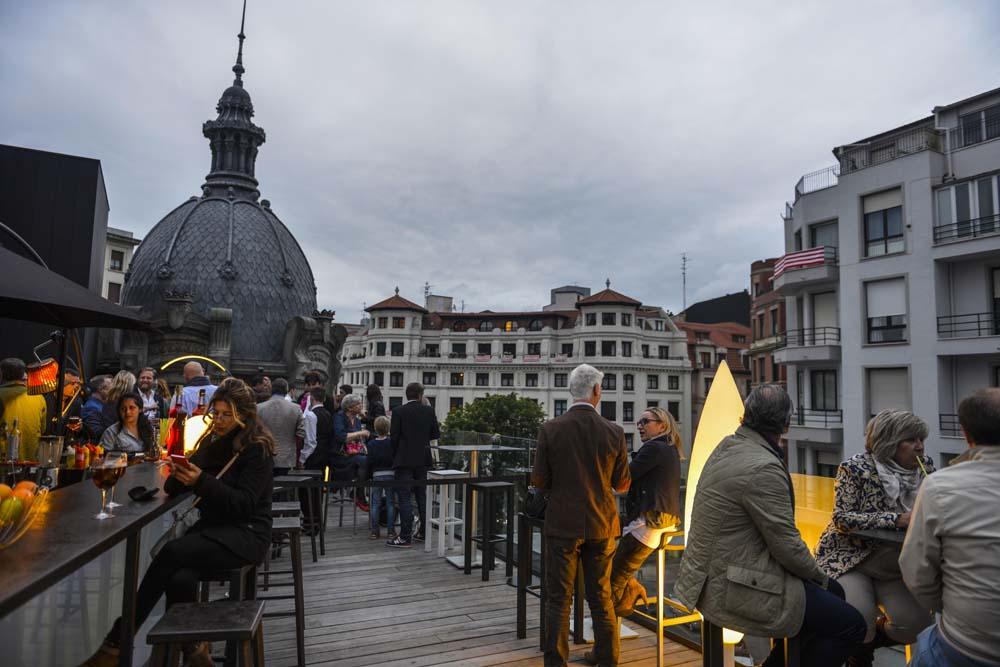 Takbaren La Terraza de Yandiola på Azkuna Zentroa i Bilbao
