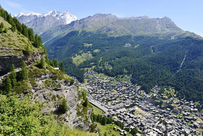 Zermatt sett fra Alterhaupt