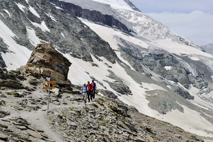 Stia mot klatringen mot Matterhorn