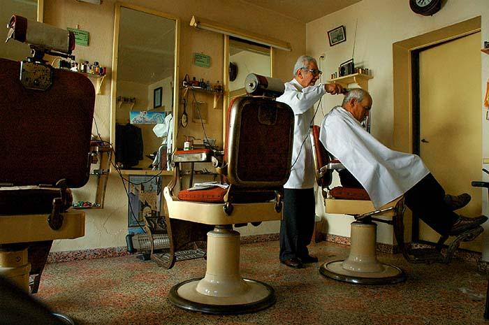 Barbersalong i Estremoz