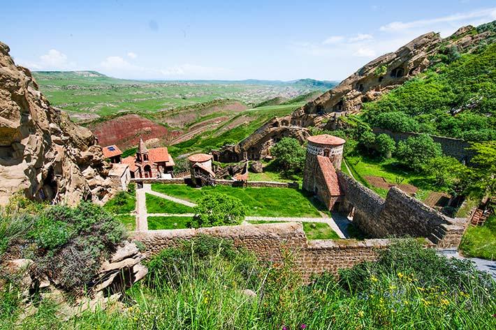 Klosteret Lavra i David Gareja
