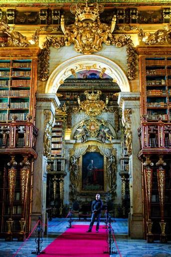 Joanina-biblioteket i Coimbra