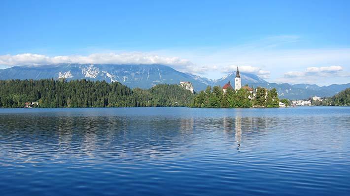 Bled i Slovenia